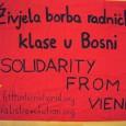 Nachdem wir über die Ereignisse in Bosnien erfahren hatten, entschieden wir uns kurzerhand, eine kleine Solidaritätsdelegation nach Bosnien zu schicken, um uns ein Bild der Lage zu machen, Kontakte zu […]