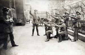Hinrichtung eines Spartakisten der Münchner Räterepublik