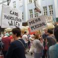 """Beschäftigte aus der Pflege in Wien haben mit den zwei jüngsten Protestaktionen einiges an Aufsehen erregen können. Inspiriert von Initiativen aus Deutschland wurden zwei """"Pflege am Boden""""-Flashmobs von CARE Revolution […]"""