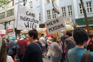 12. Mai 2015 Pflege am Boden Flashmob MaHü
