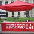 Auch dieses Jahr ist die Gruppe Arbeiter*innenstandpunkt mit einem Infostand am Wiener Universitätsring vertreten. Dort gibt es die Möglichkeit die Gruppe kennen zu lernen, Diskussionen zu führen und Publikationen zu […]
