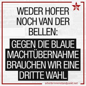 Text: Weder Hofer noch Van Der Bellen: Gegen die blaue Machtübernahme brauchen wir eine dritte Wahl