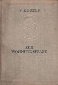 """Buchdeckel von Engels """"Zur Wohnungsfrage"""""""