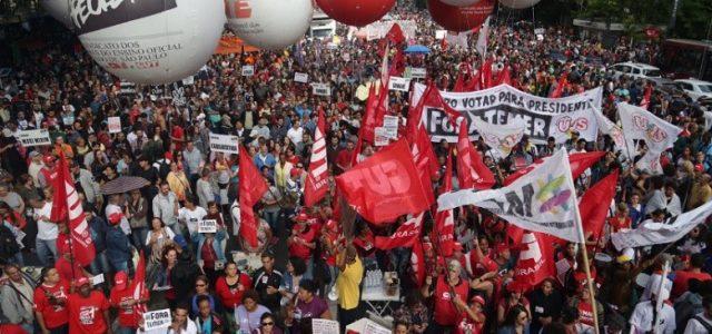 Der Generalstreik vom 28. April in Brasilien wurde von den Gewerkschaftsverbänden, den sozialen Bewegungen und den verschiedenen Teilen der Linken als großer Erfolg bewertet. Für uns beweist es darüber hinaus, […]