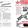 """Mit unserer 250. Ausgabe der Zeitung """"Arbeiter*innenstanpunkt"""" wollen wir einen kleinen Rückblick in die Geschichte unserer Organisation machen. Die Gruppe Arbeiter*innenstandpunkt hat eine bewegte Zeit hinter sich, mit vielen Auf- […]"""