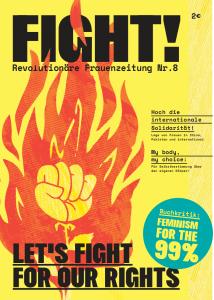 Frauenzeitung FIGHT Nr. 8